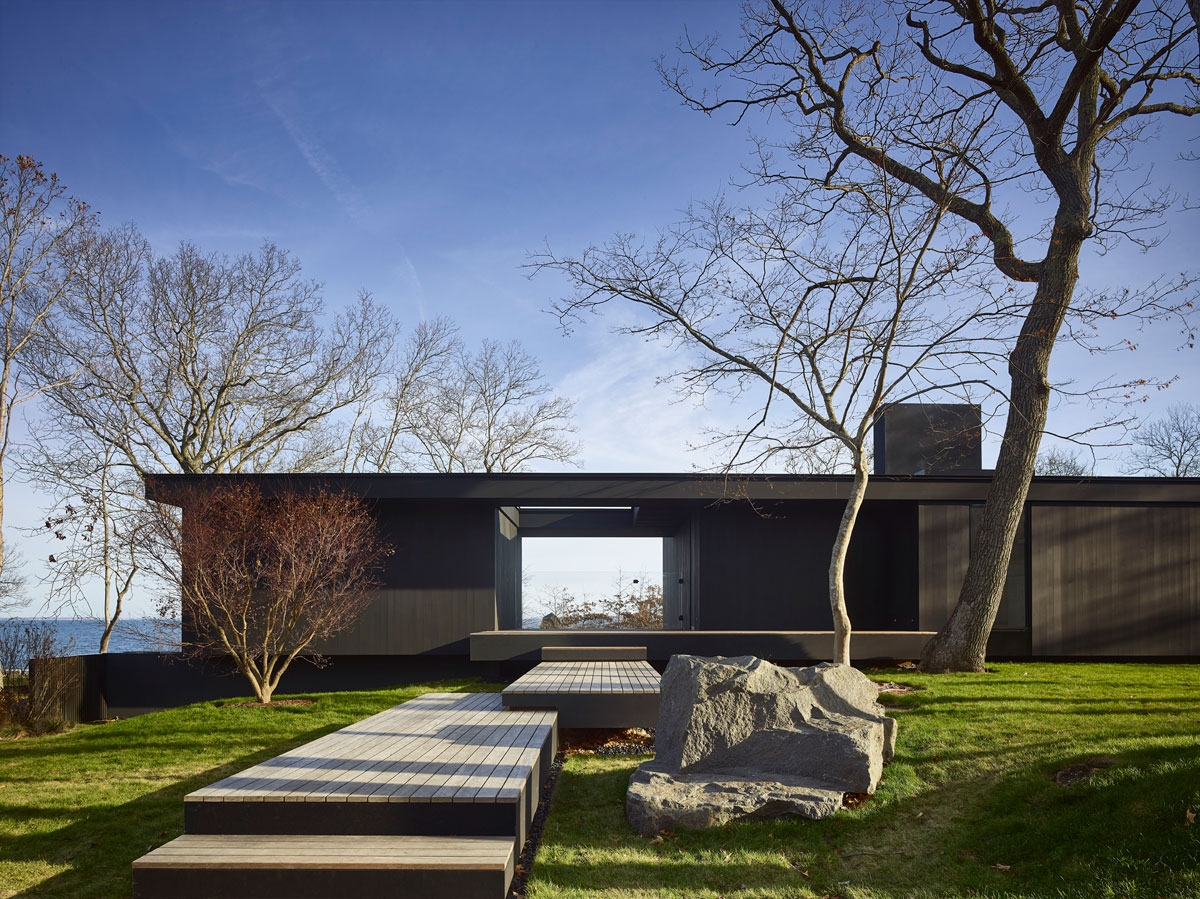 Front entrance of Woodland Retreat
