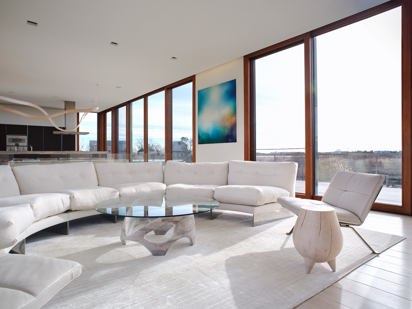 Living Room - Interior Design by Stelle Lomont Rouhani